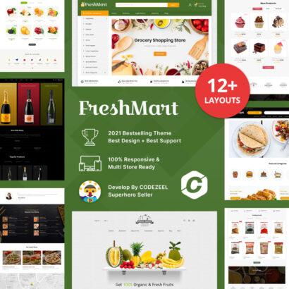 Farm Fresh – Super Market Prestashop Theme