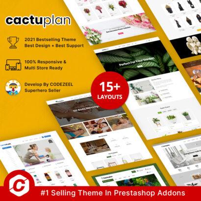 Cactuplan – Multipurpose Prestashop Theme