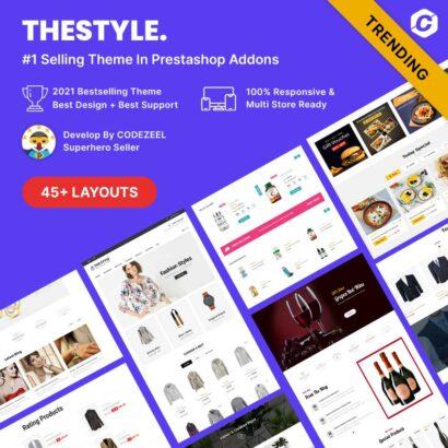 The Style - Minimal Modern Prestashop Theme