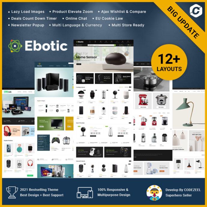 Ebotic - Multipurpose Online Store Prestashop Responsive Theme