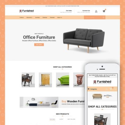 Furnished - Best Online Store Prestashop Theme