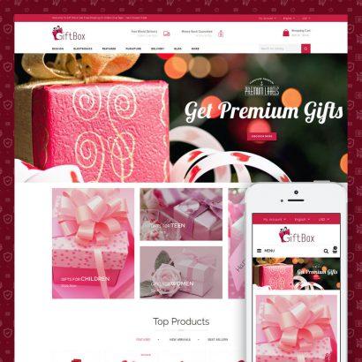 Gift Box Prestashop Theme