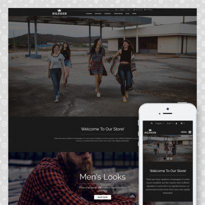 Hilfiger - Fashion Store Prestashop Theme