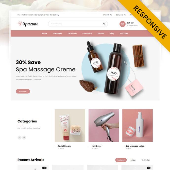 SpaZone - Massage Parlour Shopify Theme