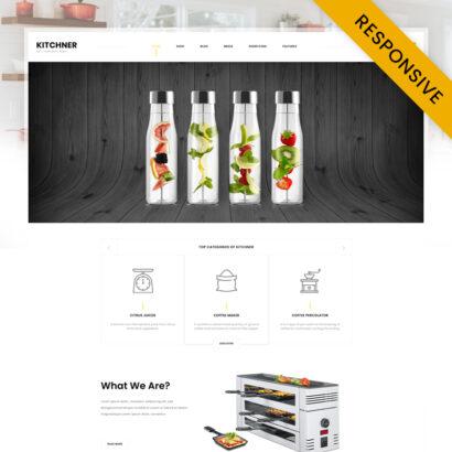 Kitchner - Kitchen Appliances Store WooCommerce Theme