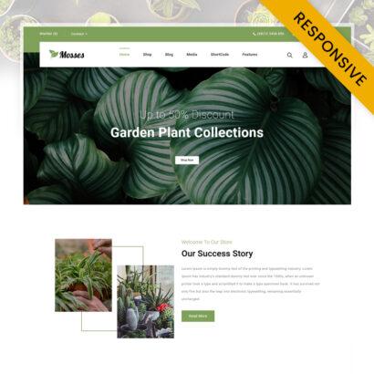 Mosses - Garden Plant Store WooCommerce Theme