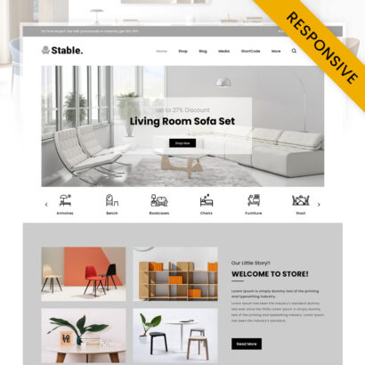Stable - Modern Furniture Store WooCommerce Theme