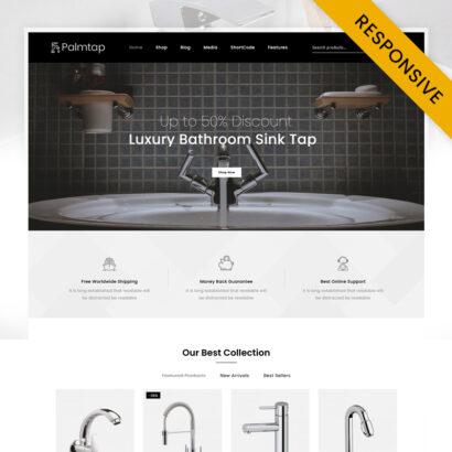 Palmtap - Plumbing Hardware Store WooCommerce Theme