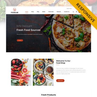 FoodLab - Restaurant Food Store WooCommerce Theme