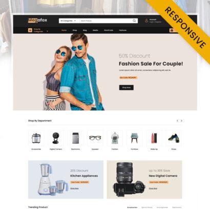 Megafox - Multipurpose Sore WooCommerce Theme