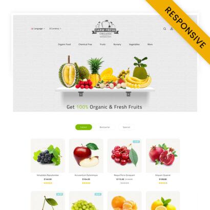 Fresh Organic Store OpenCart Theme