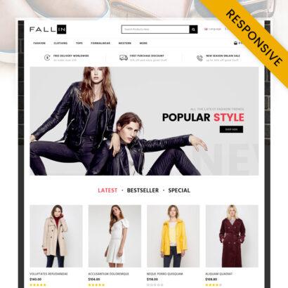 Fallin - Fashion Store OpenCart Theme