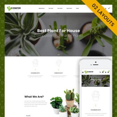 Conifer - Multipurpose OpenCart 3.x Responsive Theme