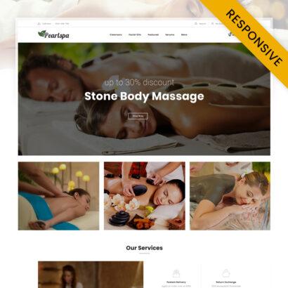PearlSpa - Massage Parlour OpenCart Theme
