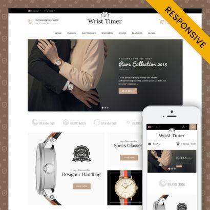 Wrist Timer - OpenCart Responsive Theme