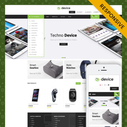 eDevice - Multipurpose Prestashop 1.7 Responsive Theme