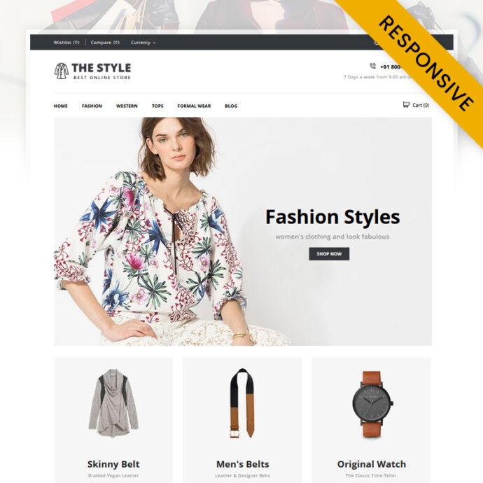 The Style - Minimal Store Shopify Theme