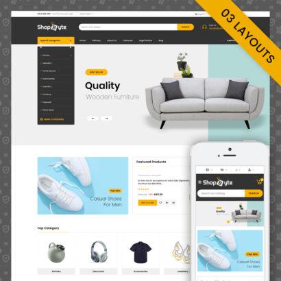 ShopByte - Multipurpose Prestashop Responsive Theme