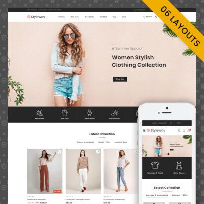 Styleway - Trendy Online Fashion Prestashop Responsive Theme