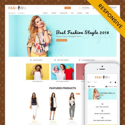 Fashion - OpenCart 3.x Responsive Theme