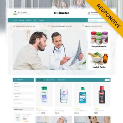Oximeter - Medical Store PrestaShop Theme