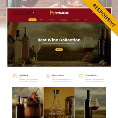 Periwinkle - Wine Store PrestaShop Theme