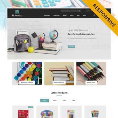 Notextra - Stationery Store PrestaShop Theme