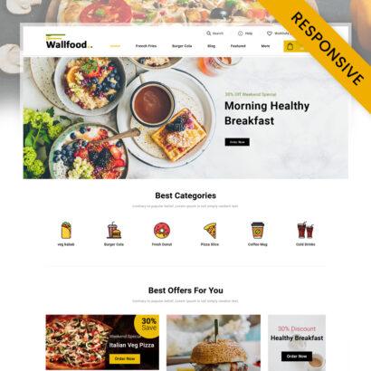 WallFood - Restaurant Store PrestaShop Theme