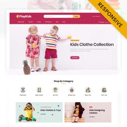 PlayKids - Kids Store PrestaShop Theme