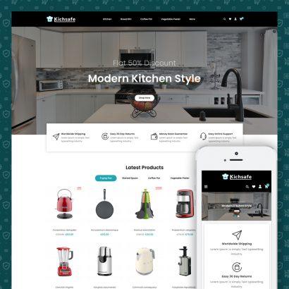 Online Kitchen Store Prestashop Theme