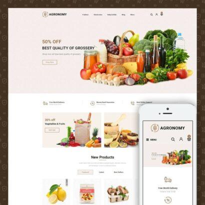 Agronomy - Organic Store Prestashop Theme