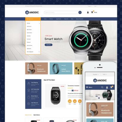 Anodic - Electronic Gadget Store Prestashop Theme
