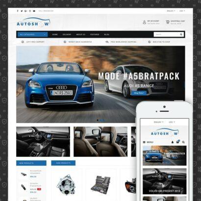 Auto Parts Store Prestashop Theme