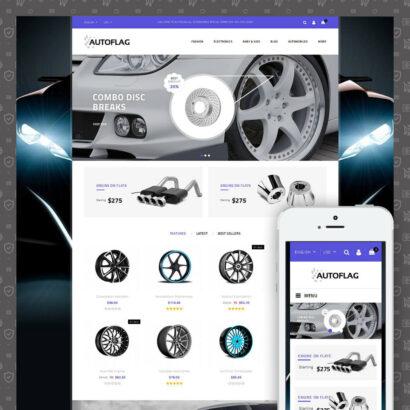 AutoFlag - AutoParts Store Prestashop Theme