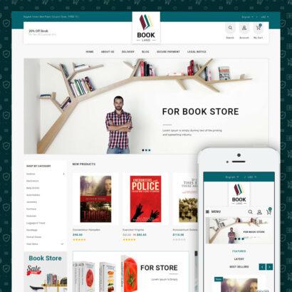 BookLand - Books Store Prestashop Theme