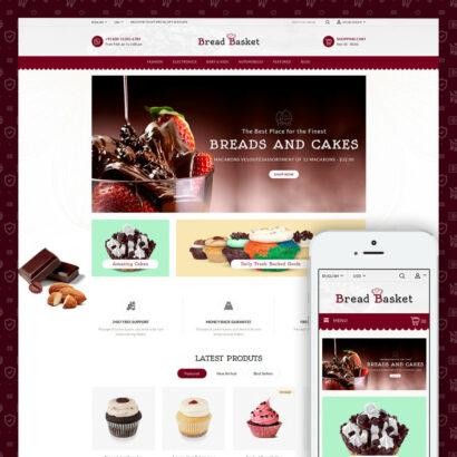 Bread Basket - Bakery Shop Prestashop Theme