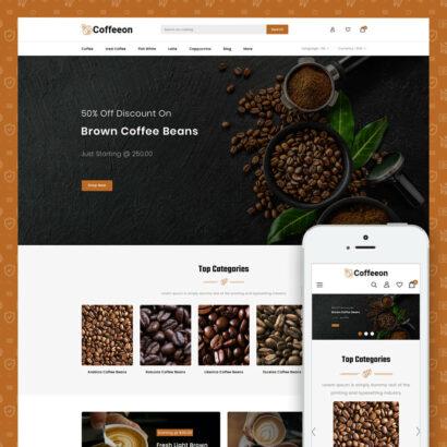 Coffeeon - Coffee Store Prestashop Theme