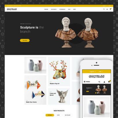 Convass - Art & Crafts Store Prestashop Theme