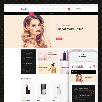 Coskit - Beauty Store Prestashop Theme