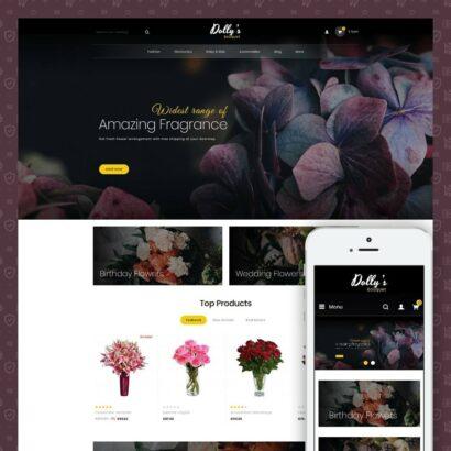 DollysBouquet - Flowers Store Prestashop Theme