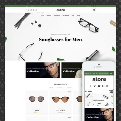 Eye Glasses Store Prestashop Theme