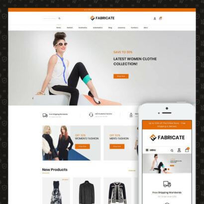Fabricate - Apparel Store Prestashop Theme