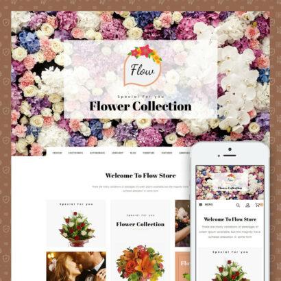 Flow - Flowers Store Prestashop Theme