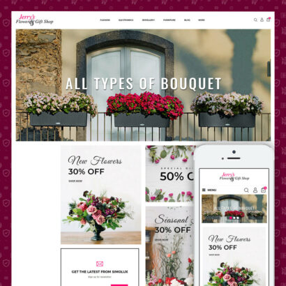 Flower & Gift Store Prestashop Theme