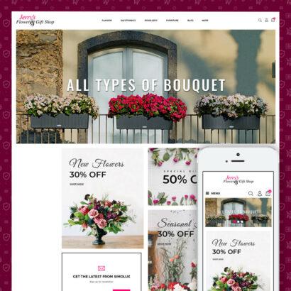 Flower & Gift Store Prestashop Theme
