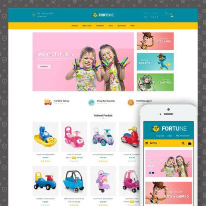 Fortune - Kids Store Prestashop Theme