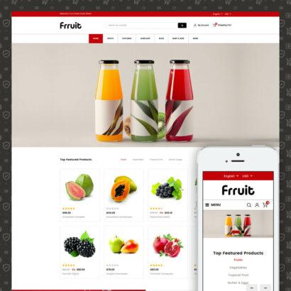 Fresh Fruits Store Prestashop Theme