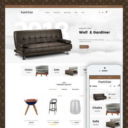 Furnicor - Furniture Store Prestashop Theme