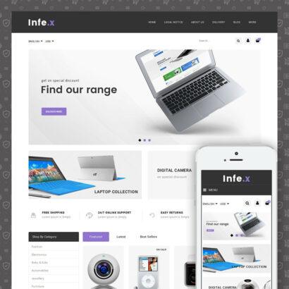 Infex - Electronic Store Prestashop Theme