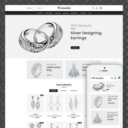 Jewedia - Jewelry Store Prestashop Theme